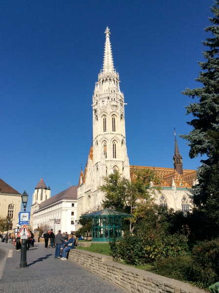 The Matthias Church with its beautiful majolica roof (10-28-14)