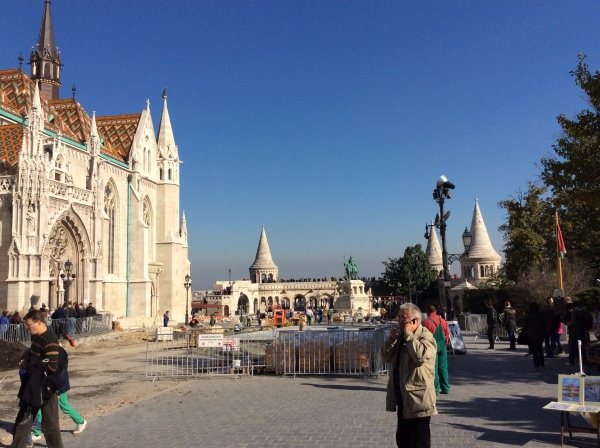Fishermen's Bastion and the Matthias Church (10-28-14)