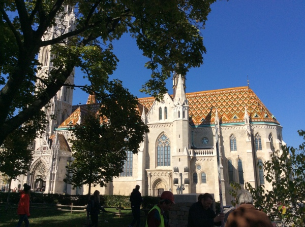 The Matthias Church with Zsolnay roof tiles (10-28-14)