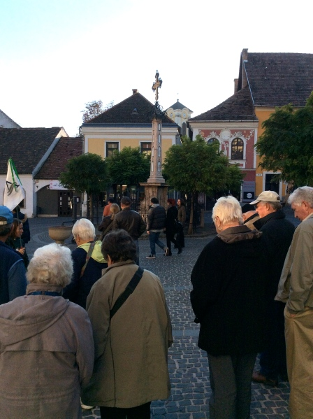 The central square are of the town (10-28-14)