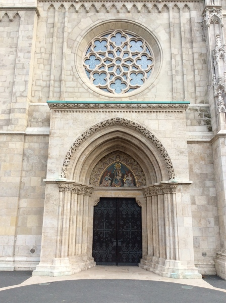 The front doors of the Church (10-29-14)