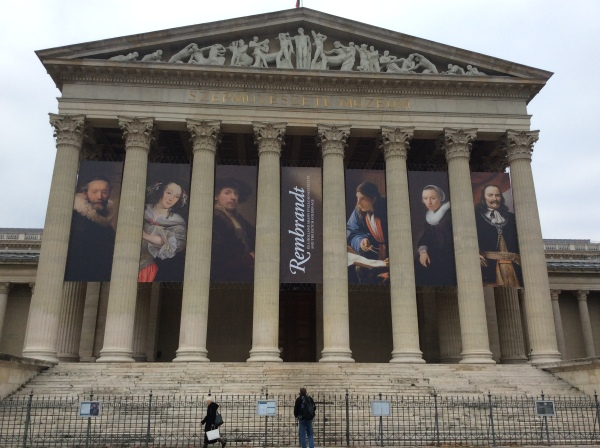 The Museum of Fine Arts was closed to the public today! (10-30-14)