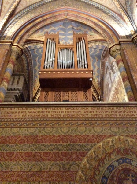The church organ (10-30-14)