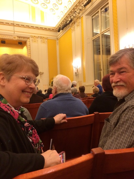 Barb & Fox in the concert house (10-26-14)