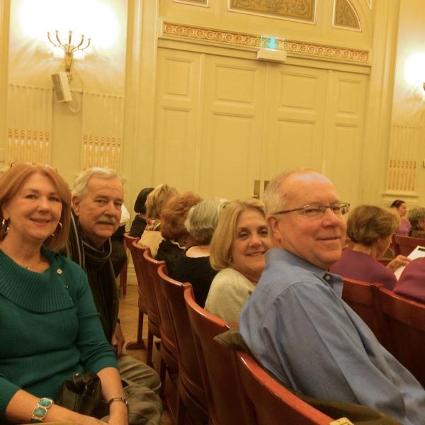 Sherry, Scott, Susan, & Tom (10-26-14)