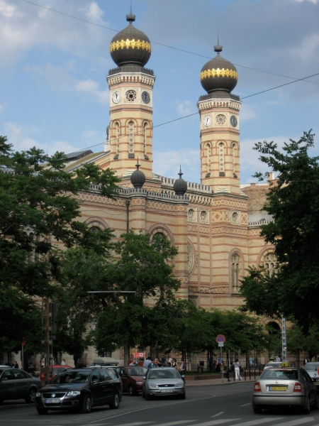 The Great Synagogue on Dohány Street (photo from Wikipedia)