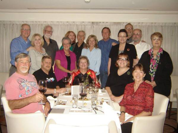 The whole group at the Bistro Dinner (10-26-14)
