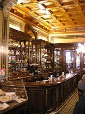 Inside Café Demel (photo from Wikipedia)