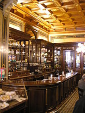 Inside Café Demel (photo from Wikipedia)