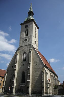 Another view of St. Martin's Cathedral (photo from Wikipedia)