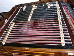 Top of the Cimbalom (photo from Wikipedia)